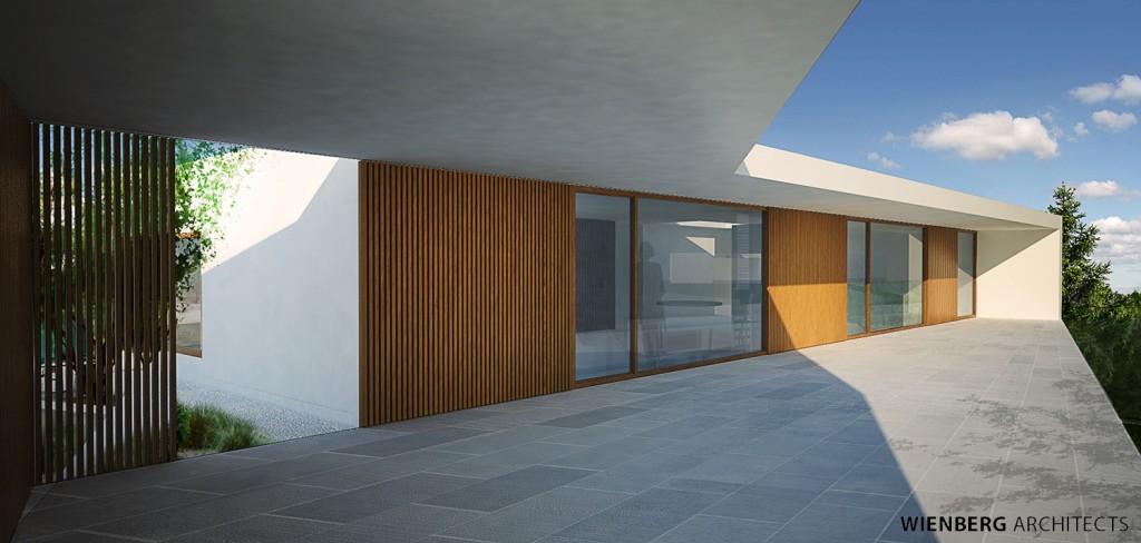Wienberg Architects Villa Skitseforslag