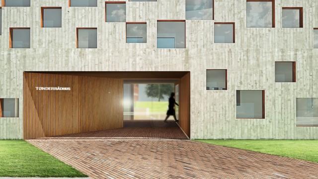 Tønder Rådhus - Udvidelse